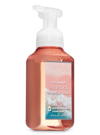 Island Papaya Micellar Gentle Foaming Hand Soap - Bath And Body Works