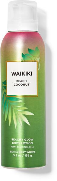 Waikiki Beach Coconut Beachy Glow Body Lotion