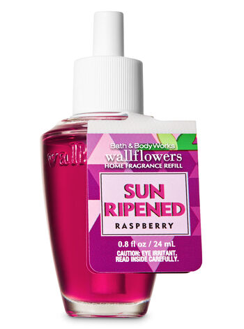 Sun-Ripened Raspberry Wallflowers Fragrance Refill - Bath And Body Works