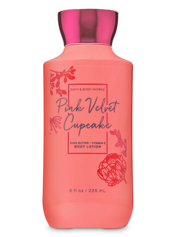 Pink Velvet Cupcake Super Smooth Body Lotion - Bath And Body Works
