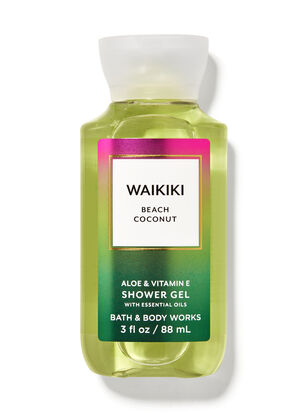 Waikiki Beach Coconut Travel Size Shower Gel