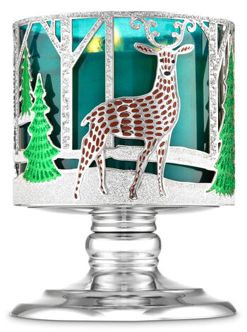 Nordic Critters Pedestal 3-Wick Candle Holder