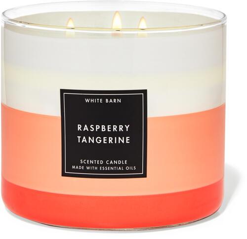 Raspberry Tangerine 3-Wick Candle