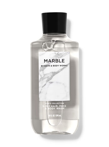 Marble 3-in-1 Hair, Face & Body Wash