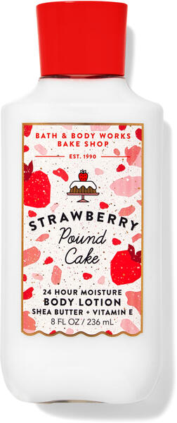 Strawberry Pound Cake Super Smooth Body Lotion