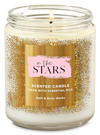 In the Stars Single Wick Candle - Bath And Body Works