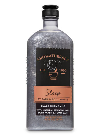 Aromatherapy Black Chamomile Body Wash and Foam Bath - Bath And Body Works