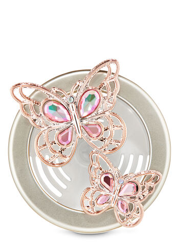 Butterfly Vent Clip Car Fragrance Holder