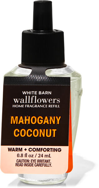 Mahogany Coconut Wallflowers Fragrance Refill