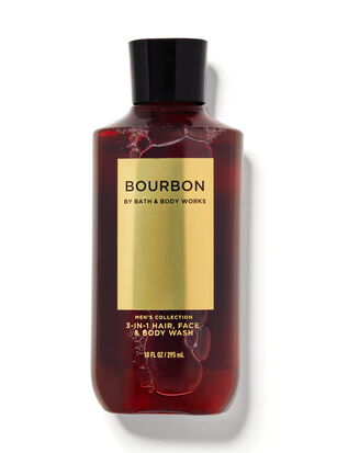 Bourbon 3-in-1 Hair, Face & Body Wash