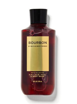 Bourbon 3-in-1 Hair, Face & Body Wash