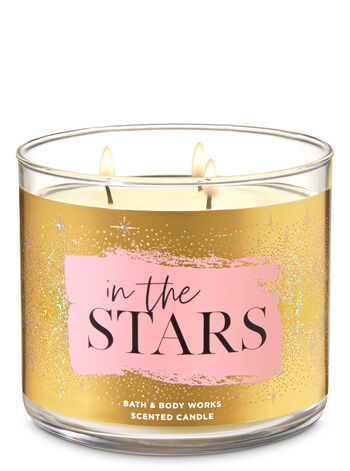 In the Stars 3-Wick Candle - Bath And Body Works