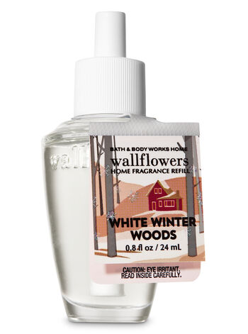 Winter White Woods Wallflowers Fragrance Refill - Bath And Body Works
