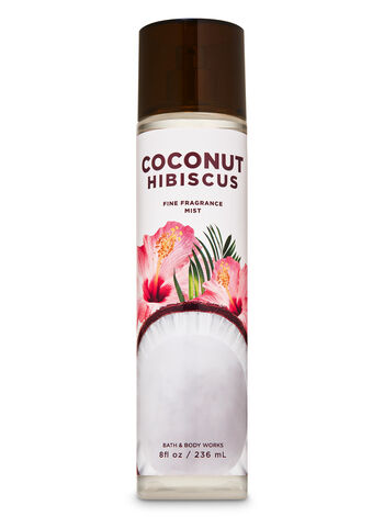 Coconut Hibiscus Fine Fragrance Mist - Bath And Body Works