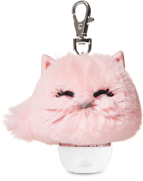 Pink Cat Pom PocketBac Holder