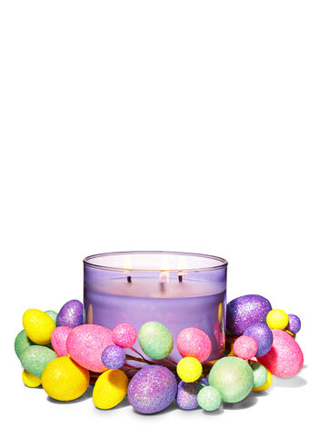 Glittery Easter Egg 3-Wick Candle Ring - Bath And Body Works