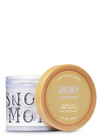 Signature Collection Snowy Morning Super Soft Body Butter - Bath And Body Works