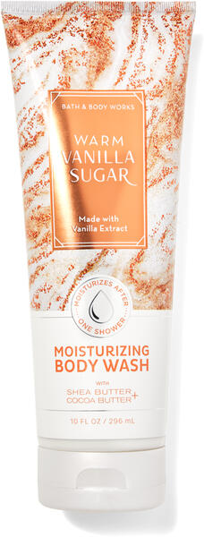 Warm Vanilla Sugar Moisturizing Body Wash