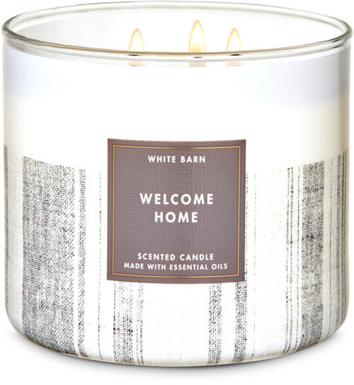 Welcome Home 3-Wick Candle
