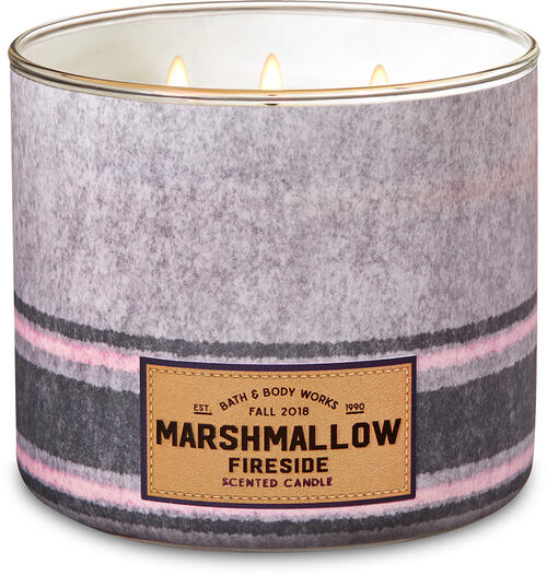 Image result for marshmallow fireside candle