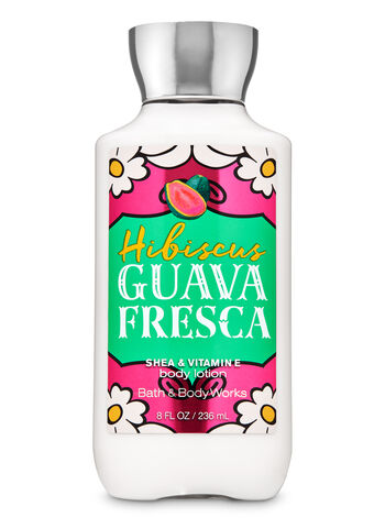 Hibiscus Guava Fresca Super Smooth Body Lotion - Bath And Body Works
