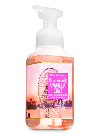Boardwalk Vanilla Cone Gentle Foaming Hand Soap - Bath And Body Works