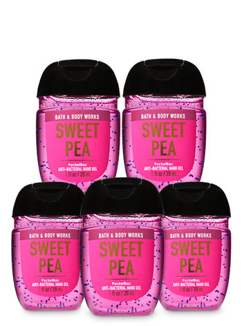 Sweet Pea PocketBac Hand Sanitizers, 5-Pack - Bath And Body Works