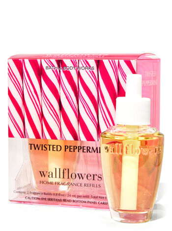 Twisted Peppermint Wallflowers Refills, 2-Pack