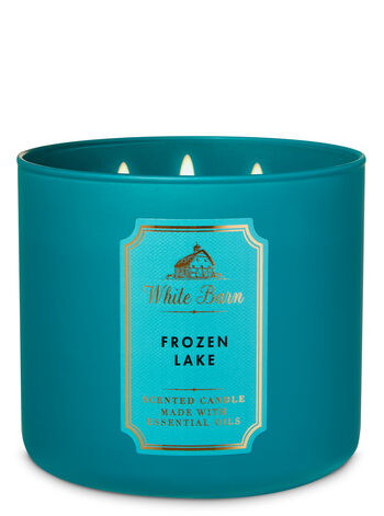 White Barn Frozen Lake 3-Wick Candle - Bath And Body Works