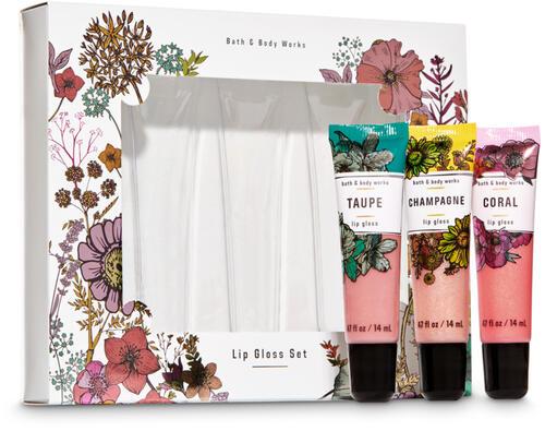 Spring Lip Gloss Set, 3-Pack