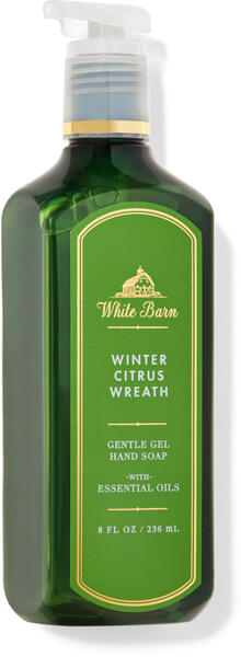 Winter Citrus Wreath Gentle Gel Hand Soap