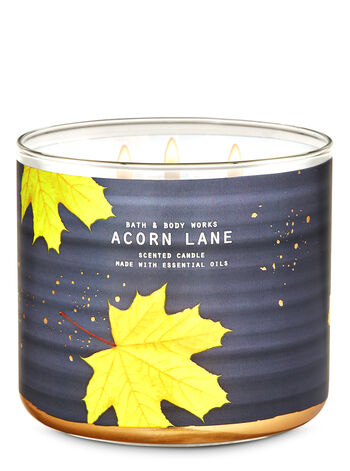 Acorn Lane 3-Wick Candle - Bath And Body Works
