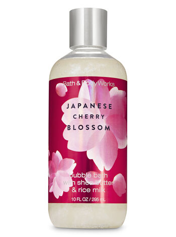 Japanese Cherry Blossom Bubble Bath - Bath And Body Works