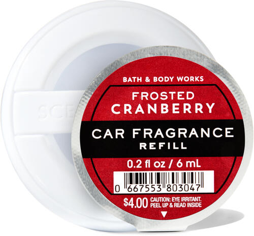 Frosted Cranberry Car Fragrance Refill