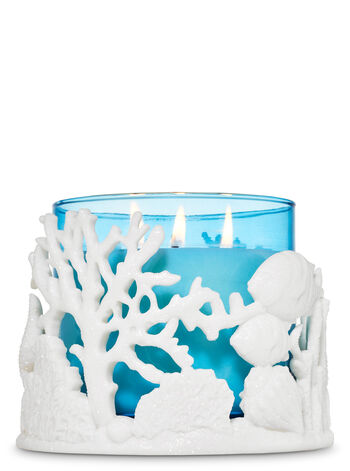 Coral Reef 3-Wick Candle Holder - Bath And Body Works