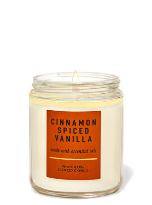 Cinnamon Spiced Vanilla Single Wick Candle