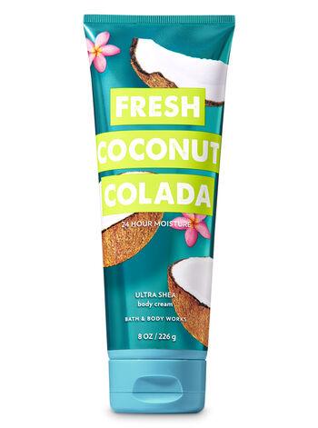 Signature Collection Fresh Coconut Colada Ultra Shea Body Cream - Bath And Body Works