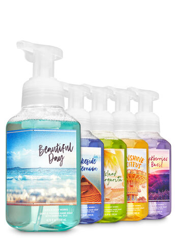 Summer Memories Gentle Foaming Hand Soap, 5-Pack - Bath And Body Works