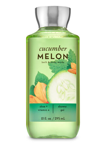 Signature Collection Cucumber Melon Shower Gel - Bath And Body Works