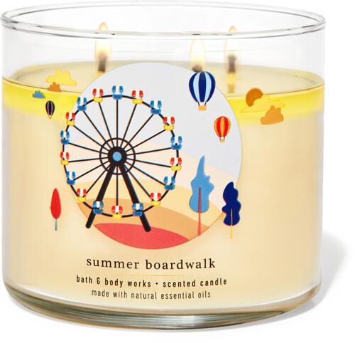 Summer Boardwalk 3-Wick Candle