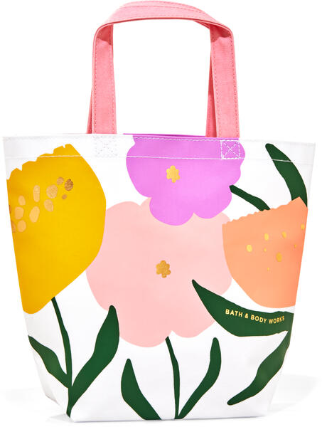 Spring Flowers Canvas Gift Bag