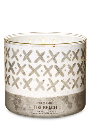 Tiki Beach 3-Wick Candle - Bath And Body Works