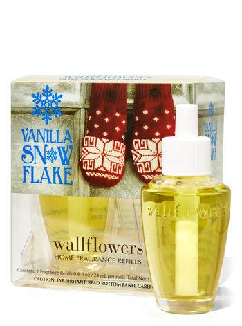 Vanilla Snowflake Wallflowers Refills, 2-Pack