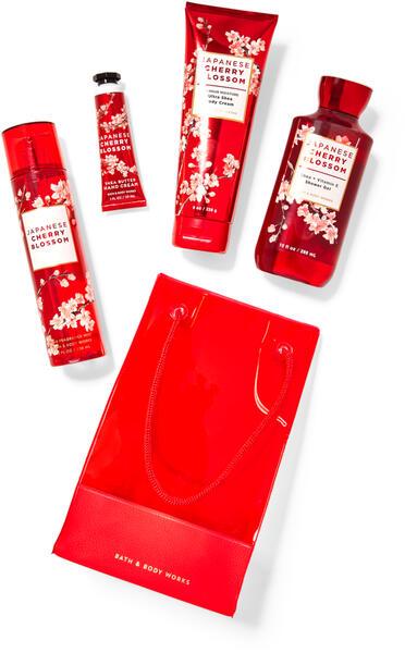 Japanese Cherry Blossom Gift Bag Set