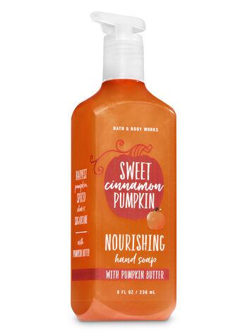 Sweet Cinnamon Pumpkin Hand Soap with Pumpkin Butter - Bath And Body Works