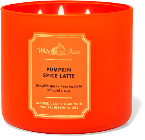 Pumpkin Spice Latte 3-Wick Candle