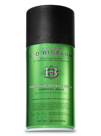 C.O. Bigelow Premium Shave Foam By Proraso for C.O. Bigelow - Bath And Body Works