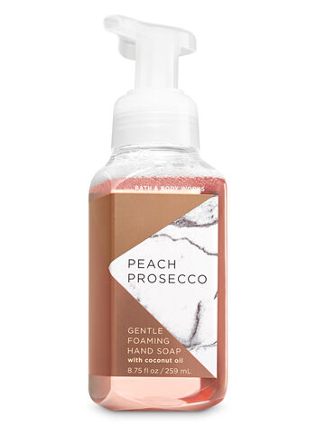 Peach Prosecco Gentle Foaming Hand Soap - Bath And Body Works