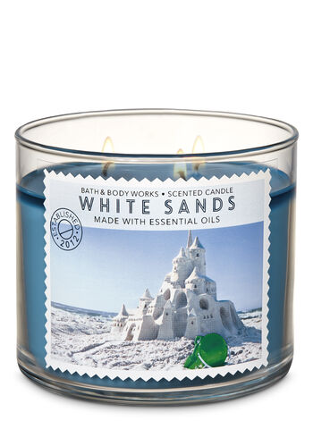White Sands 3-Wick Candle - Bath And Body Works