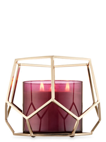 Hexagon 3-Wick Candle Holder - Bath And Body Works